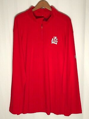4770b9696 Under Armour Men's (Size 2XL) MLB 2018 All Star Game Red Long Sleeve  Pullover