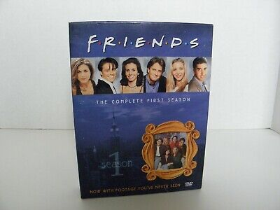 Friends The Complete First Season DVD 4 Disc Set Standard Version Special Featur