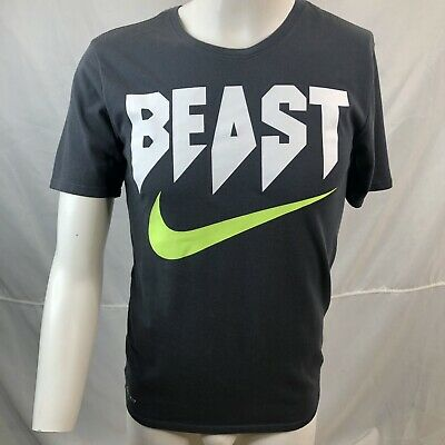 8524ef25 Nike mens graphic tee size small Dri-Fit Athletic Beast Swoosh logo