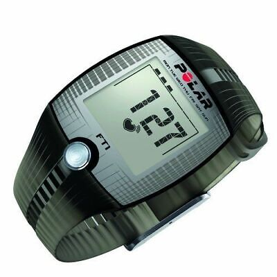 Polar FT1 Heart Rate Monitor Sport Watch, Black