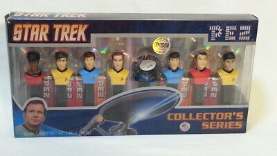 Star Trek TOS Pez Collectors Series FACTORY SEALED Limited edition