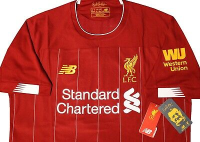 new product 9213a fea94 NEW BALANCE LIVERPOOL FC 2019/20 Home Jersey Men's LARGE Size BNWT  *MT930000*