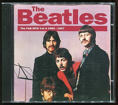 The Beatles - The FAB Hits Vol.4 1965-1967 CD 1993 Charly Records Classic Rock