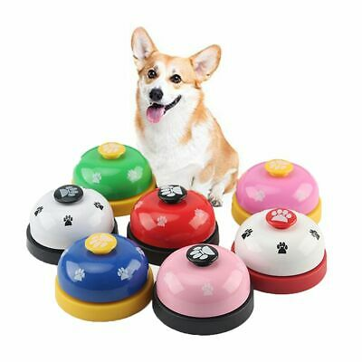 Novelty Pet Toy Training Called Dinner Bell Footprint Dog Training Ring TOP