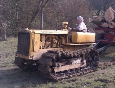1947 CATERPILLAR D2 Agrispec Tractor Crawler Dozer with Cab
