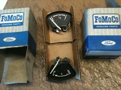 Ford Cortina MK1 fuel and temperature cluster gauge elements FoMoCo