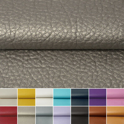 Faux Leather Vinyl Upholstery Fabric Material PVC PU Leatherette 1m*1.38m 0.7mm