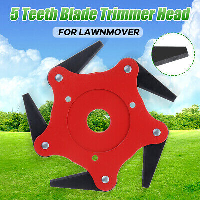 5Steel Blades Razors 65Mn Lawn Mower Grass Eater-Trimmers Head Brush Cutter Tool