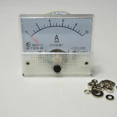 DC Panel Ammeter Factory Current Outlet Meter 85C1-Analog 0~10A AMP