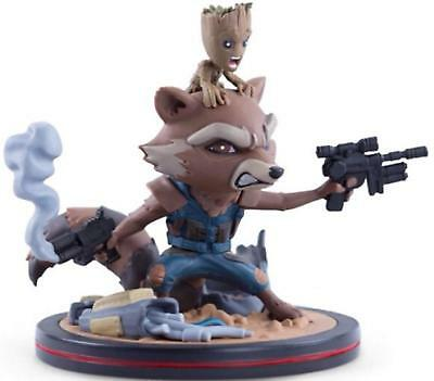 Figurine Marvel Guardians Of The Galaxy - Rocket & Groot Qfig