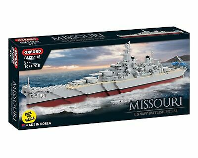 Missouri Us Navy Battleship 1071 Pieces