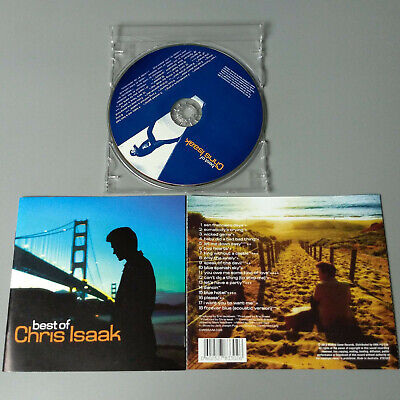 Chris Isaak - Best Of 2012 AUSTRALIA CD VG #1344*