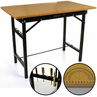 150Kg Heavy Duty Portable Folding Workbench Pasting Table Work Bench Foldable