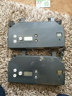 Boulter Buderus Pcb housing including boards used scratched front panels