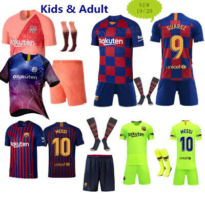 19/20 Adult Football Club Strips Youth Jersey uniforms Kids Kits & Socks UK