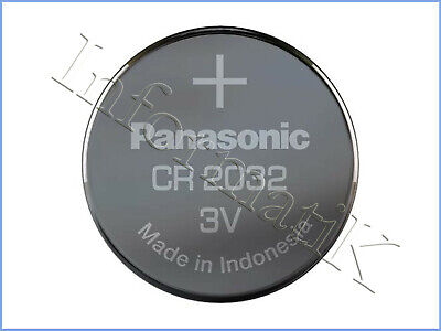Panasonic CR2032 Pila Bios Batteria a Bottone Cell Coin CMOS Battery Lotto Stock