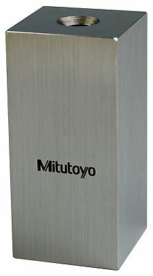 Mitutoyo Steel Square Gage Block, ASME Grade 0, 16.5 mm Length.
