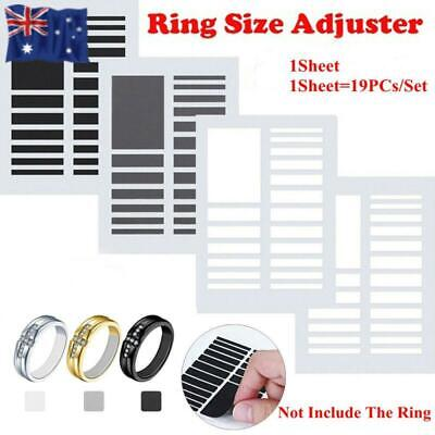 Tighteners Resizing Tools Adjuster Pad Reducer Ring Size Adjuster Set
