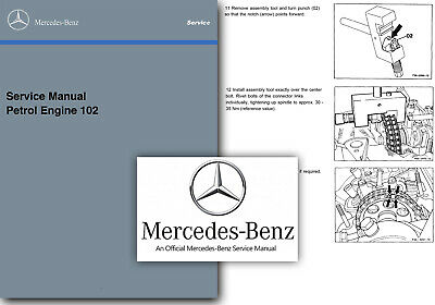 Mercedes m102 2.3 Engine Service Manual w201 with 2.3 16v Sup 190E Cosworth