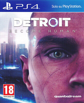 Detroit Become Human Ps4 Gioco Italiano - Sony Playstation 4 Nuovo Pal
