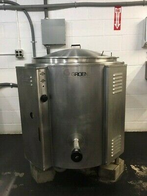 GROEN EE-60 ELECTRIC JACKETED KETTLE 60 Gallon
