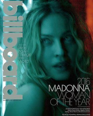 Billboard Magazine Madonna 2016 Woman of the Year Shania Twain Kesha Andra Day