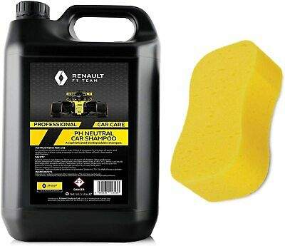 Car Shampoo Renault F1 5 Litre PH Neutral Biodegradable Shampoo