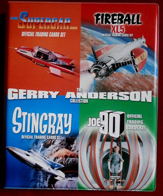 Gerry Anderson Collection, Officially Licensed Trading Card BINDER - Unstoppable