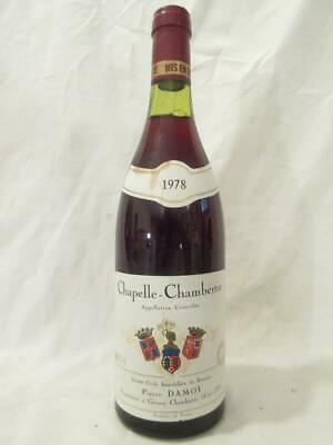 chapelle-chambertin pierre damoy grand cru rouge 1978 - bourgogne france