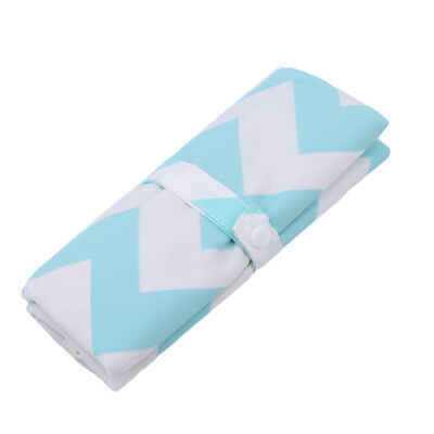 Portable Baby Nappy Changing Mat Folding Home Travel Kit Clutch Bag 7N