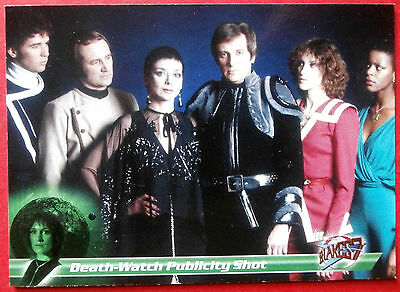 Terry Nation's BLAKE'S 7 - Card #79 - Death-Watch Publicity Shot - Unstoppable