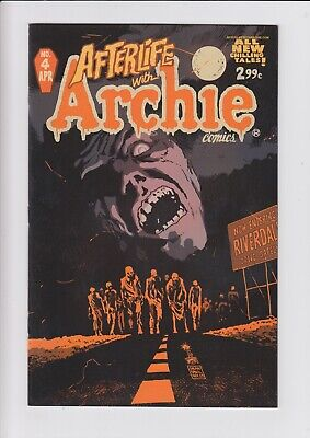 Afterlife With Archie 4 B 1st PRINT NM Francavilla Variant Zombie Jughead