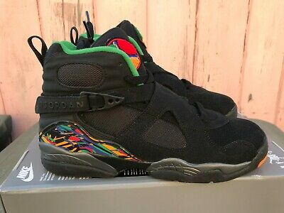368ec7c4dc0 New Nike Air Jordan 8 Retro Tinker Shoe Size 7y Black/Concord 305368-004