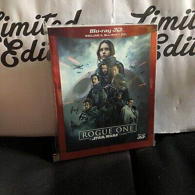STAR WARS story rogue one -blu ray+3D-SLIPCASE-