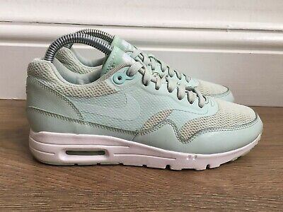 LADIES NIKE AIR Max 90 Essentials White Pink Blue Size 5 Eu