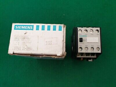 Siemens 3TF41 22-0BB4  Contactor 24 V Coil 20 Amp