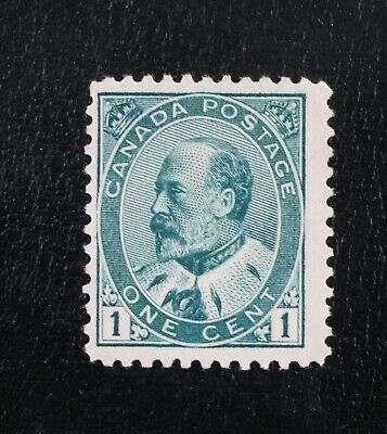Canada Stamp collection King Edward VII - VF mint NG Scott #89 1c CV$80