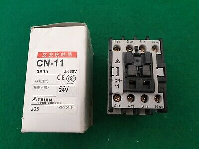 Taian CN-11 Contactor 24 V Coil 25 Amp