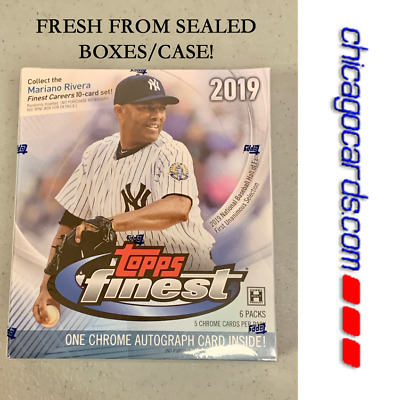 2019 Topps Finest HOBBY MINI-Box 1 AUTO (Acuna Guerrero RC Rookie Trout Jeter)?