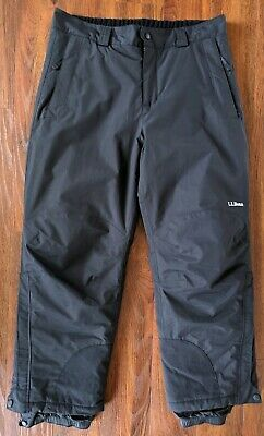 8f0bedb791 LL Bean Mens Size Large Reg. waterproof insulated Ski Snow Snowboard Pants