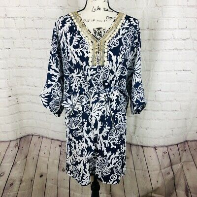 9415f82bd040 LILLY PULITZER WILDA Caftan Dress In The Grove Large - $56.00 | PicClick