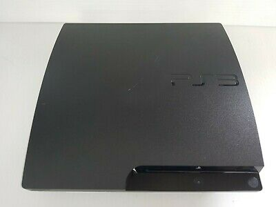Sony PlayStation 3 Slim Launch Edition 320GB Charcoal Black Console (CECH-3001B)