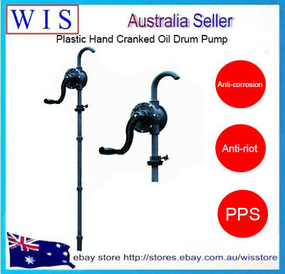 PPS Chemical Drum Pump,for Diesel,Kerosene,Engine Oil,Water and Weak Acid-46109