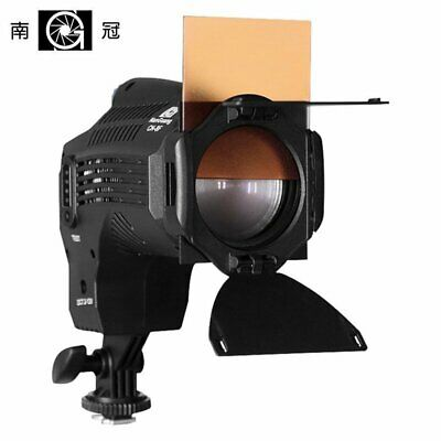 Nanguang CN-8F Daylight 8W 5600K Dimmable Studio LED Fresnel Light For Camera