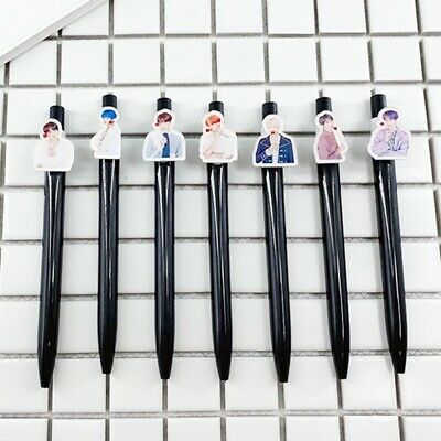 KPOP BTS Bangtan Boys Ballpoint Pen New Album Photo Pen Office School Stationery