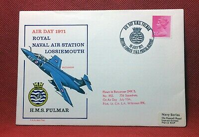 GB,1971, Solent Flown Cover, Air Day 1971 RN Air Station Lossiemouth, #P205