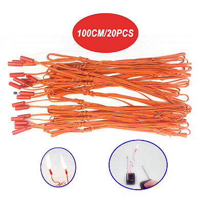 20 pcs 1M electric match Igniter Wire for Fireworks Firing System e-match