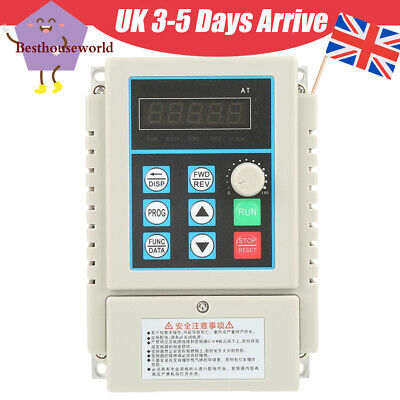 0.45kW VFD 2.5A AC 220V Single/3-Phase Speed Variable Frequency Drive Inverter