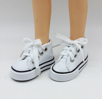 7.5cm Canvas Shoes For 1/3 BJD Doll Shoes 60cm SD 16 Inch Salon Doll Shoes