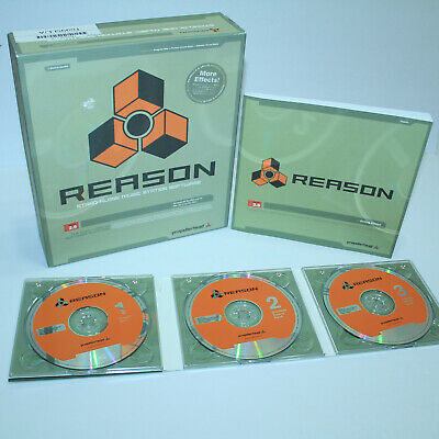 GORGEOUS Propellerhead Reason 2.5 Stand-Alone Music Station Software